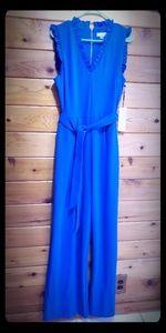 Calvin Klein Royal Blue Jumpsuit